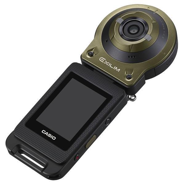 【送料無料】カシオ デジタルカメラ EXILIM グリーン EX-FR10GN [EXFR10GN]【RNH】