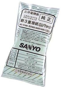 三洋電機 クリーナー用 純正紙パック(10枚入) SC-P10N【SPPS】
