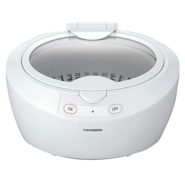 ツインバード 超音波洗浄器 ホワイト EC-4518W [EC4518W]【RNH】