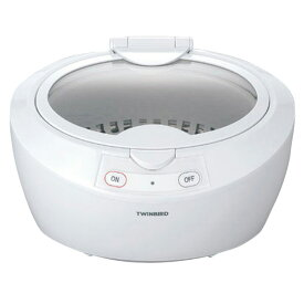 ツインバード 超音波洗浄器 ホワイト EC-4518W [EC4518W]【RNH】【IMPP】