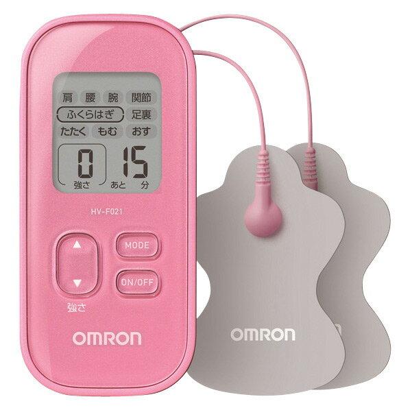 【送料無料】オムロン 低周波治療器 ピンク HV-F021-PK [HVF021PK]【RNH】