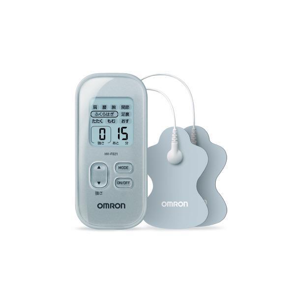 【送料無料】オムロン 低周波治療器 シルバー HV-F021-SL [HVF021SL]【RNH】