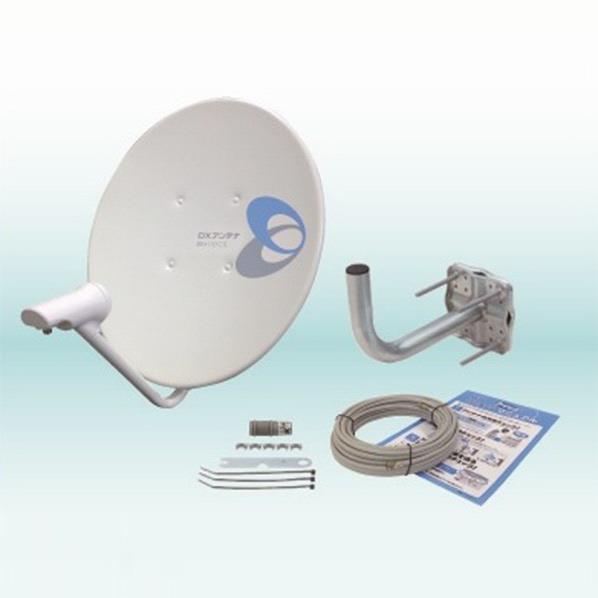 【送料無料】DXアンテナ 45形 BS・110度CSアンテナ ホワイト BC453K [BC453K]