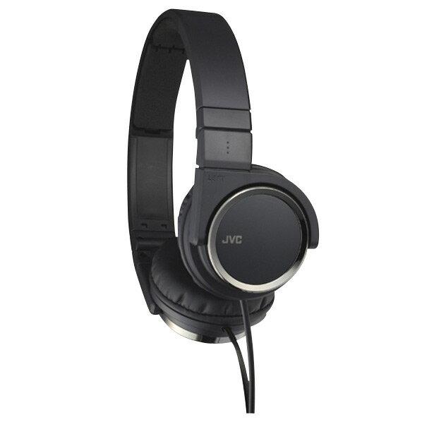 JVCケンウッド ダイナミック型ステレオヘッドフォン ブラック HA-S400-B [HAS400B]【RNH】