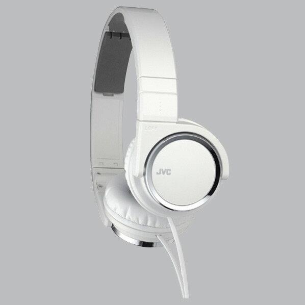 JVCケンウッド ダイナミック型ステレオヘッドフォン ホワイト HA-S400-W [HAS400W]【RNH】