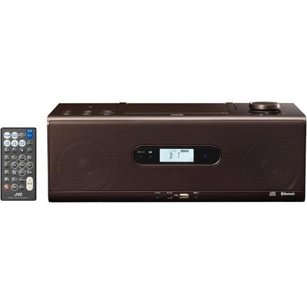 【送料無料】JVCケンウッド CDポータブルシステム ブラウン RD-W1-T [RDW1T]【RNH】