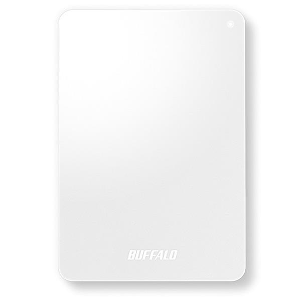 BUFFALO おもいでばこ 安心バックアップキット(1TB) ホワイト PD-BK1TB [PDBK1TB]