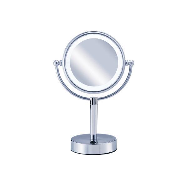 KOIZUMI 拡大鏡(引き寄せミラー) Bijouna シルバー KBE-3010/S [KBE3010S]