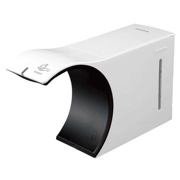 サラヤ ノータッチ式ディスペンサー ELEFOAM2.0 スノーホワイト UD-6100FW [UD6100FW]