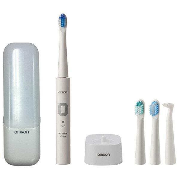オムロン 音波式電動歯ブラシ メディクリーン HTB306W [HTB306W]