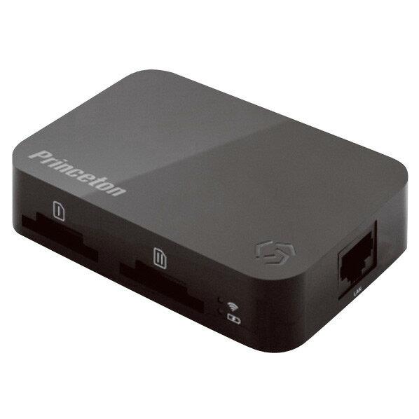 プリンストン Wirelessモバイルストレージ Toaster PRO ブラック PTW-TSTP [PTWTSTP]【KK9N0D18P】
