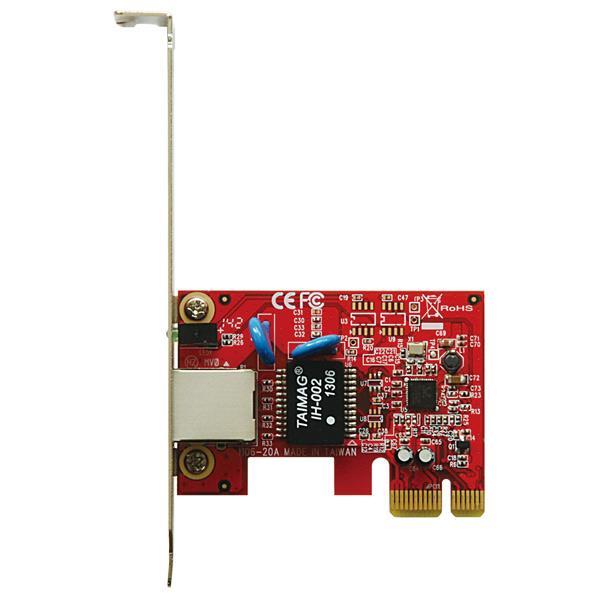 玄人志向 Realtek RTL8168搭載 PCI-Express ×1接続ギガビットイーサネットカード GBE-PCIE4 [GBEPCIE4]