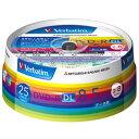 Verbatim データ用DVD-R DL 8.5GB 2-8倍速 インクジェットプリンタ対応 スピンドルケース 25枚入り DHR85HP25V1 [DHR8…
