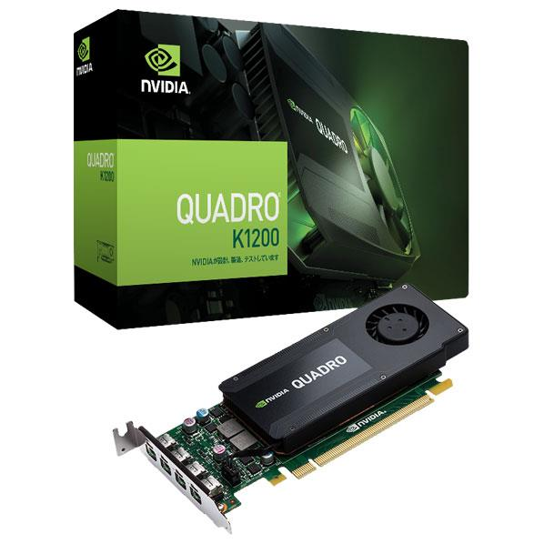 【送料無料】ELSA グラフィックスボード NVIDIA Quadro K1200 EQK1200-4GER [EQK12004GER]