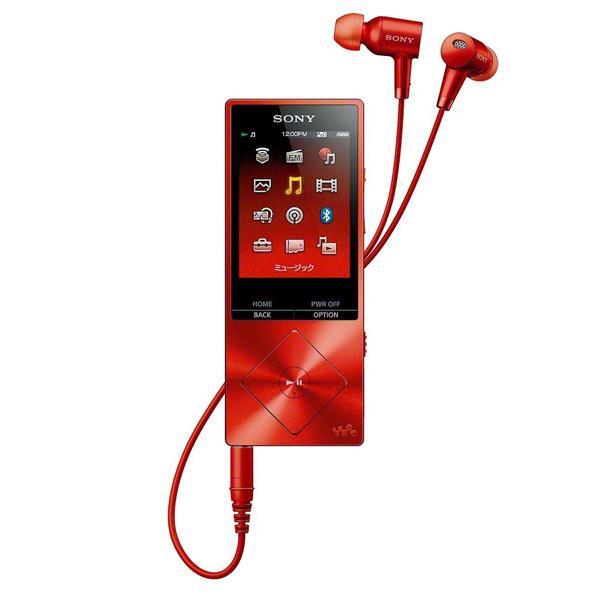 【送料無料】SONY ポータブルオーディオプレーヤー(16GB) ウォークマンAシリーズ シナバーレッド NW-A25HN R [NWA25HNR]【KK9N0D18P】【DZI】【RNH】【RKAN】