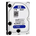 【送料無料】WESTERN デスクトップ用3.5インチ型ハードディスクドライブ(2TB) WD Blue WD20EZRZ-RT [WD20EZRZRTC]