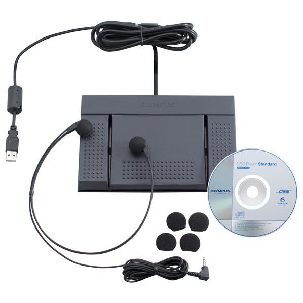 【送料無料】オリンパス PC用USBフットスイッチ RS-27H [RS27H]