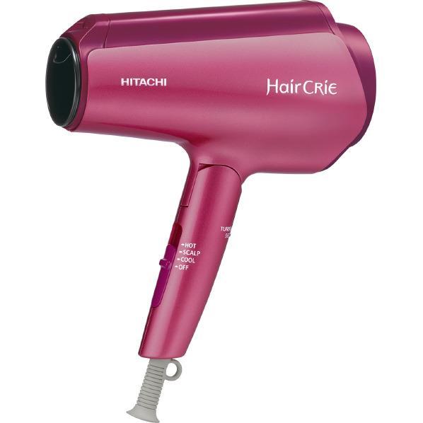 【送料無料】日立 ナノイオンドライヤー HairCRiE Plus+ ピンクトパーズ HD-NS800P [HDNS800P]【RNH】