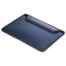 BUFFALO ヘアライン調スリーブケース iPad Pro用 ブルー BSIPD15LCLSLBL [BSIPD15LCLSLBL]