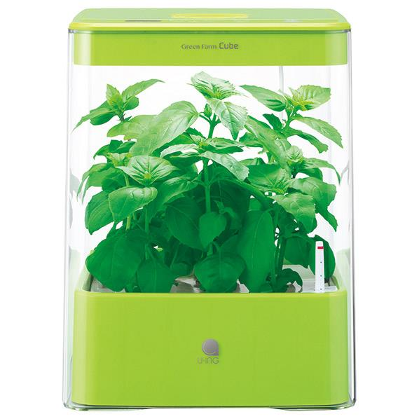 ユーイング 水耕栽培器 Green Farm Cube グリーン UH-CB01G1-G [UHCB01G1G]
