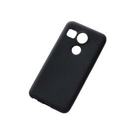 レイアウト シリコンケース Nexus 5X用 ブラック RT-NX5XC1/B [RTNX5XC1B]