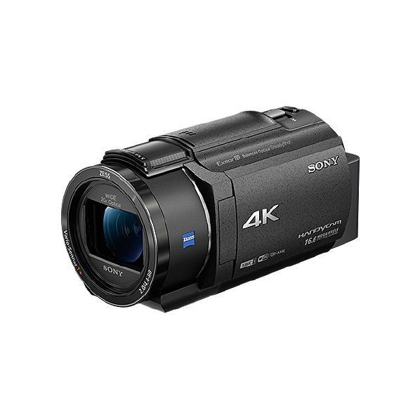【送料無料】SONY 64GB内蔵メモリー デジタル4Kビデオカメラレコーダー ハンディカム ブラック FDR-AX40 B [FDRAX40B]【RNH】