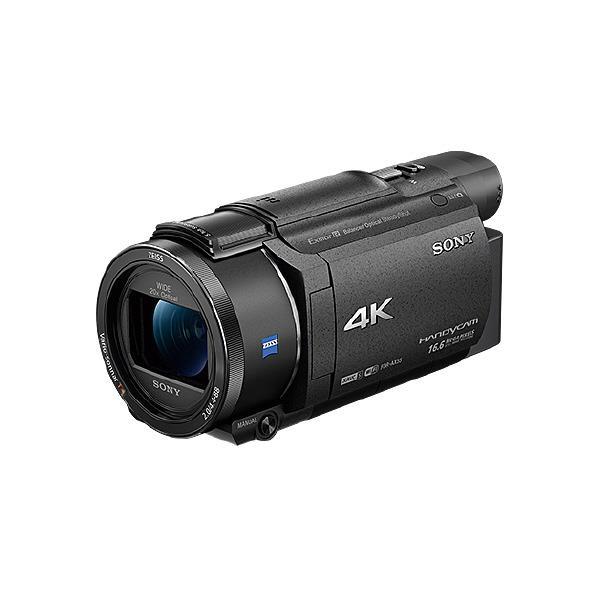 【送料無料】SONY 64GB内蔵メモリー デジタル4Kビデオカメラレコーダー ハンディカム ブラック FDR-AX55 B [FDRAX55B]【RNH】