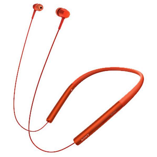 【送料無料】SONY ワイヤレスステレオヘッドセット h.ear in Wireless シナバーレッド MDR-EX750BT R [MDREX750BTR]【DZI】【RNH】