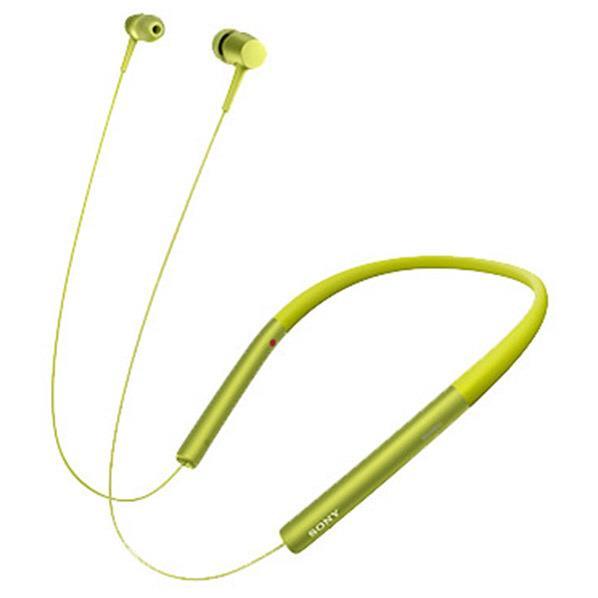 【送料無料】SONY ワイヤレスステレオヘッドセット h.ear in Wireless ライムイエロー MDR-EX750BT Y [MDREX750BTY]【DZI】【RNH】