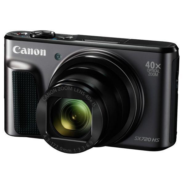 【送料無料】キヤノン デジタルカメラ PowerShot SX720 HS ブラック PSSX720HSBK [PSSX720HSBK]【RNH】