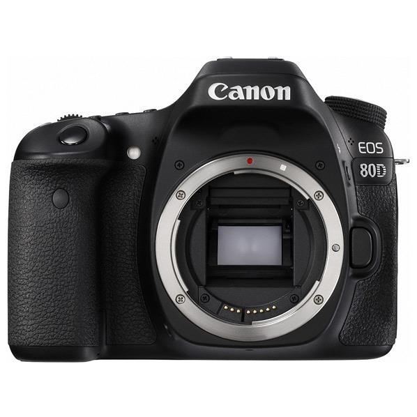 【送料無料】キヤノン デジタル一眼レフカメラ・ボディ EOS 80D EOS80D [EOS80D]【RNH】