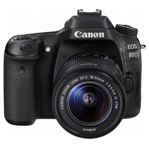 【送料無料】キヤノン デジタル一眼レフカメラ・EF-S18-55 IS STMレンズキット EOS 80D EOS80D1855ISSTMLK [EOS80D1855ISSTMLK]【RNH】