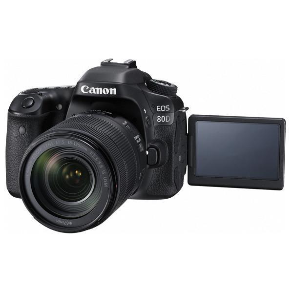 キヤノン デジタル一眼レフカメラ・EF-S18-135 IS USMレンズキット EOS 80D EOS80D18135ISUSMLK [EOS80D18135ISUSMLK]【RNH】