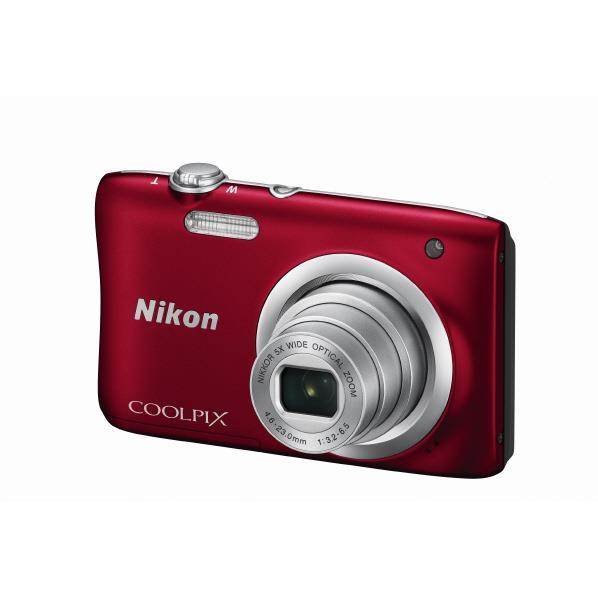 ニコン デジタルカメラ COOLPIX A100 レッド COOLPIXA100RD [COOLPIXA100RD]【RNH】