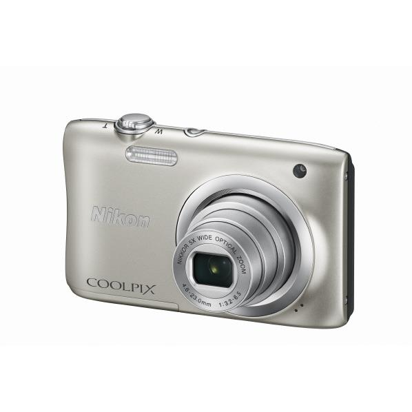 【送料無料】ニコン デジタルカメラ COOLPIX A100 シルバー COOLPIXA100SL [COOLPIXA100SL]【RNH】【MARP】