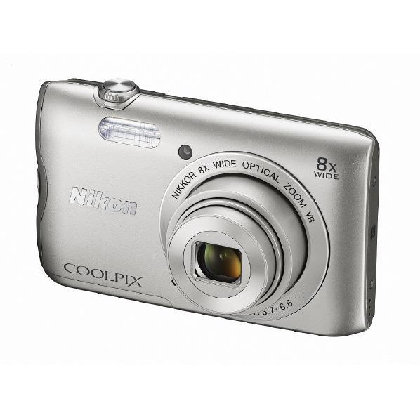 【送料無料】ニコン デジタルカメラ COOLPIX A300 シルバー COOLPIXA300SL [COOLPIXA300SL]【RNH】