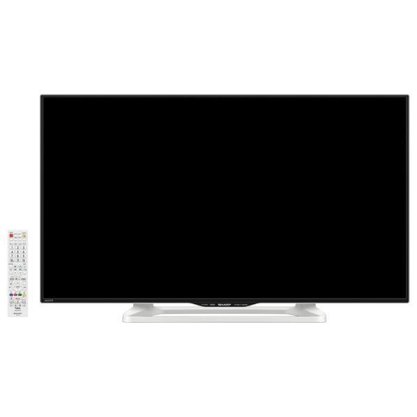 【送料無料】シャープ 40V型フルハイビジョン液晶テレビ AQUOS ホワイト系 LC40W35W [LC40W35W]【KK9N0D18P】【RNH】