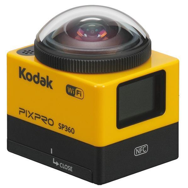 コダック 360°全方位撮影可能 アクションカメラ PIXPRO SP360 [SP360]
