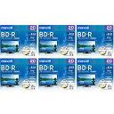 【送料無料】マクセル 録画用25GB 1-4倍速対応 BD-R追記型 ブルーレイディスク 20枚入り 6個セット BRV25WPE20SP6 [BRV25WPE...