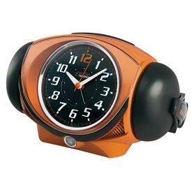 SEIKO 目覚まし時計 オレンジメタリック塗装 NR441E [NR441E]