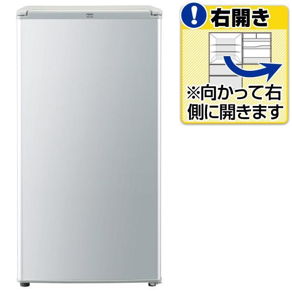 【送料無料】AQUA 【右開き】75L 1ドアノンフロン冷蔵庫 メタリックシルバー AQR-81E(S) [AQR81ES]【RNH】