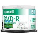 マクセル 録画用DVD-R 4.7GB 1-16倍速対応 CPRM対応 インクジェットプリンタ対応 50枚入り DRD120PWE.50SP [DRD120PW...