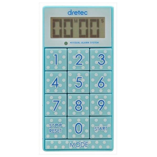 ドリテック デジタルタイマー 「スリムキューブ」 ブルー T-520BL [T520BL]