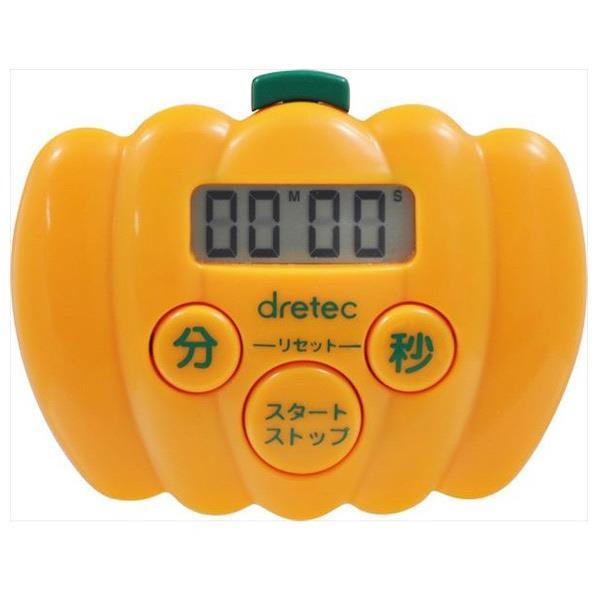 ドリテック カボチャタイマー オレンジ T-526OR [T526OR]
