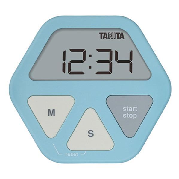 タニタ ガラスにつくタイマー ブルー TD-410-BL [TD410BL]