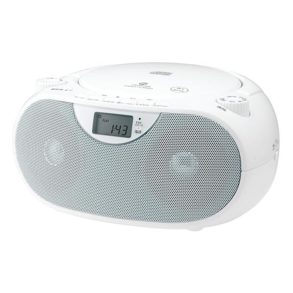 KOIZUMI CDラジオ オリジナル SOUNDLOOK ホワイト SAD-47E4/W [SAD47E4W]【RNH】