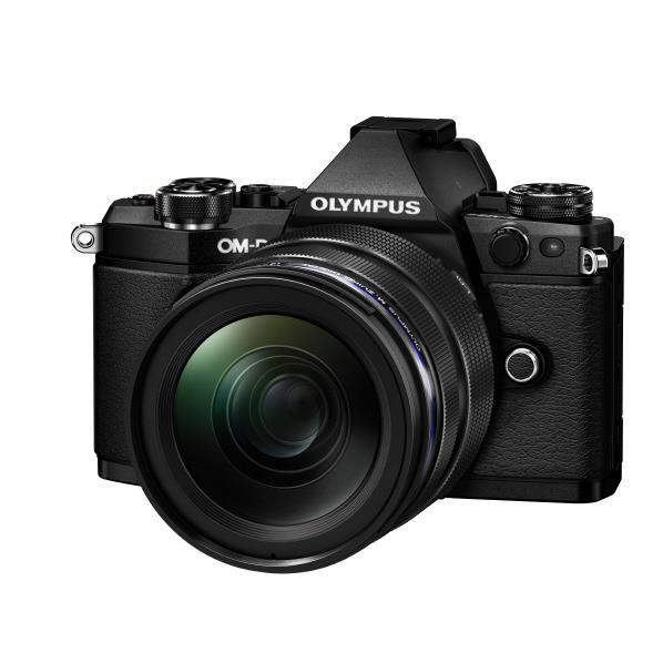 オリンパス デジタル一眼カメラ・12-40mm F2.8 レンズキット OM-D E-M5 Mark II ブラック OM-DE-M5MARK2LK1240BLK [OMDEM5MK2LK1240PROBLK]【RNH】