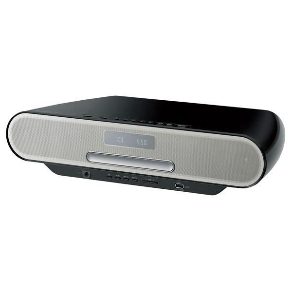 【送料無料】パナソニック コンパクトステレオシステム(4GB) ブラック SC-RS55-K [SCRS55K]【RNH】