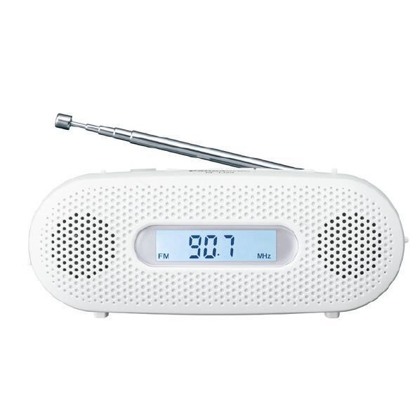 【送料無料】パナソニック FM-AM 2バンドレシーバー ホワイト RF-TJ20-W [RFTJ20W]【RNH】