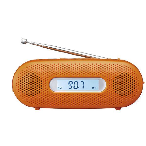 【送料無料】パナソニック FM-AM 2バンドレシーバー オレンジ RF-TJ20-D [RFTJ20D]【RNH】